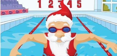 christmas-swimming